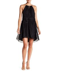 Joie - Althia Metallic Silk Dress - Lyst