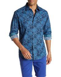 Robert Graham - Chikasaw Long Sleeve Print Classic Fit Woven Shirt - Lyst