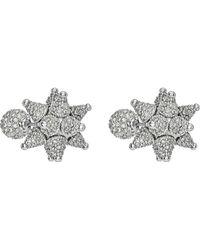 Swarovski - As Kalix Crystal Cluster Star Stud Earrings - Lyst