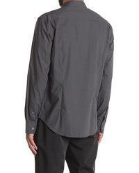 Bugatchi Long Sleeve Dress Shirt - Black