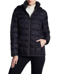 MICHAEL Michael Kors - Logo Sleeve Hooded Jacket - Lyst