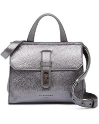 Liebeskind Berlin - Nevada Pebbled Leather Mini Top Handle Bag - Lyst