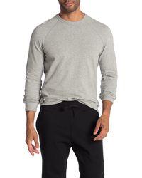 Reigning Champ Mesh Jersey Long Sleeve T-shirt - Gray