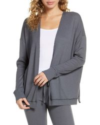 Project Social T Thermal Cardigan - Gray