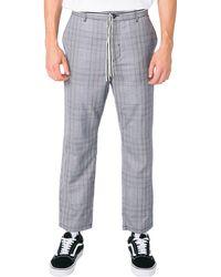 Zanerobe Jumpa Plaid Chino Pants - Gray