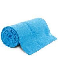 Gaiam - Grippy Yoga Mat Towel - Lyst