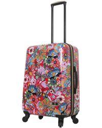 Halina Car Pintos Intenso Hard Shell Luggage - Red