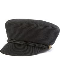 Vince Camuto - Packable Braided Military Cap - Lyst