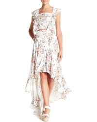 On The Road - Miley Floral Skirt & Top Set - Lyst