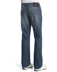 True Religion Ricky Straight Leg Jeans - Blue