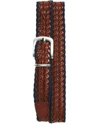 Eleventy - Woven Belt - Lyst
