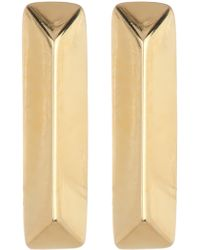 Elizabeth and James - Mies Bar Stud Earrings - Lyst