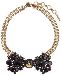 Loren Hope - Felix Crystal Bow Necklace - Lyst