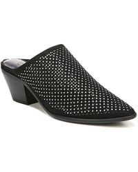 Carlos By Carlos Santana - Penny Perforated Pointed Toe Mule - Lyst