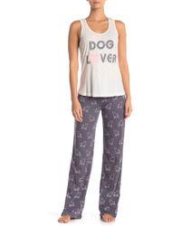 Pj Salvage - Rose Day Dog Lover Pajama Pants - Lyst