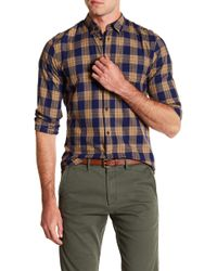 Scotch & Soda - Relaxed Fit Long Sleeve Shirt - Lyst