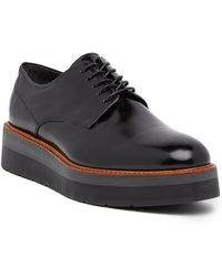 Vince - Drystan Platform Leather Derby - Lyst