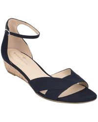 Bandolino Talia 2 Wedge Sandal - Blue