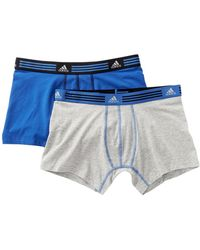 adidas - Athletic Stretch Trunks - Pack Of 2 - Lyst
