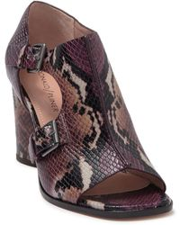 Donald J Pliner Fouu Block Heel Sandal - Multicolor