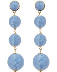 BaubleBar - Criselda Ball Shoulder Duster Earrings - Lyst