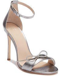Pour La Victoire - Elanna Leather Bow Sandal - Lyst