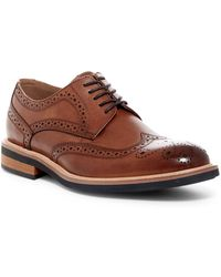 Kenneth Cole Reaction - Brogued Wingtip Derby - Lyst