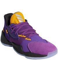 adidas Harden Vol. 4 Su Casa Basketball Shoe - Purple