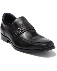 Johnston & Murphy Rollins Bike Toe Loafer - Black