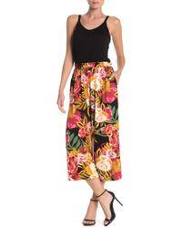 Spense Paperbag Waist Sleeveless Jumpsuit - Multicolour