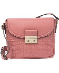 Cole Haan Quilted Leather Crossbody - Multicolour
