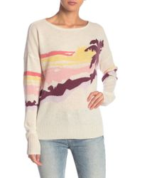 360cashmere - Sunny Print Cashmere Sweater - Lyst
