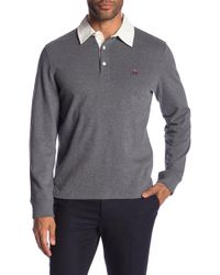 Brooks Brothers - Long Sleeve Rugby Polo - Lyst