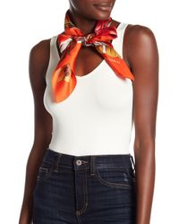 Vince Camuto - Queen Of The Jungle Silk Scarf - Lyst