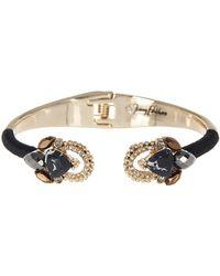Jenny Packham - Crystal Hinge Bangle Bracelet - Lyst