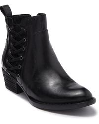 Born Dayle Leather Boot - Black