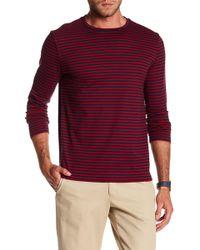 BOSS - Talley Striped Long Sleeve Tee - Lyst