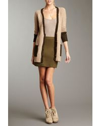 Olive & Oak - Solid A-line Skirt - Lyst