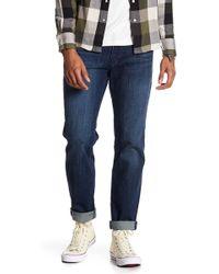"Lucky Brand Original Straight Leg Jeans - 30-34"" Inseam - Blue"
