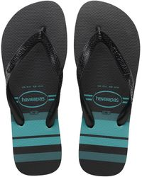 Havaianas Top Basic Flip Flop - Black
