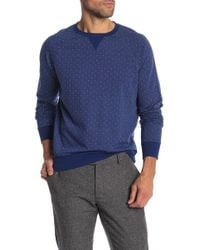 Brooks Brothers - Crew Neck Print Pullover - Lyst