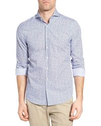 GANT - Action Art Print Fitted Sport Shirt - Lyst