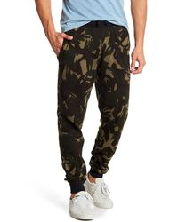 Polo Ralph Lauren Camouflage Waffle Knit Lounge Sweatpants - Multicolour