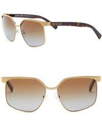 Michael Kors - Women's August 56mm Square Sunglasses - Lyst