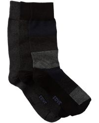 Frye - Tonal Crew Socks - Pack Of 3 - Lyst