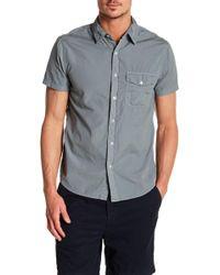 Save Khaki - Poplin Short Sleeve Classic Fit Shirt - Lyst