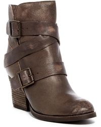 Naughty Monkey - Cross My Heart Leather Boot - Lyst