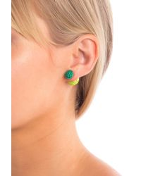 Suzanna Dai - Chinese Knot Double Sided Earrings - Lyst