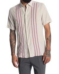 Reiss - Labowler Stripe Regular Fit Shirt - Lyst