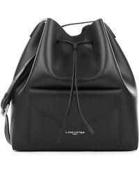 Lancaster Paris - Pur Smooth Envelope Leather Bucket Bag - Lyst